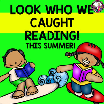 Summer Readers!  Bulletin Board with Photos for the fall! Spanish & English!