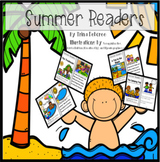 Emergent Summer Readers Bundle for First and Second Grade