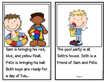 Summer Readers: Pool Party! {Transitional Reader}