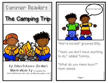 Summer Readers: The Camping Trip {Transitional Reader}