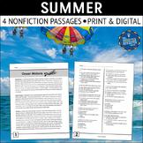 Summer Nonfiction Reading Passages