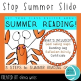 Summer Reading Goals - 5 Steps to success!