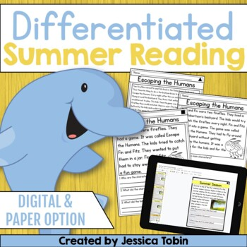 Summer Reading Comprehension Passages and Questions