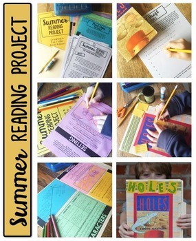 Summer Reading Project - File Folder Book Report - Any Book!