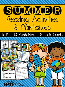 Summer Reading Activities & Printables