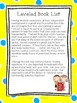 Summer Reading Activities with Leveled Book List