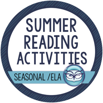 Summer Reading Activity Pack
