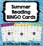 Summer Reading BINGO Cards