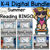 Summer Reading Bingo Digital Bundle for Google Classroom