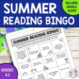 Summer Reading Bingo | Distance Learning