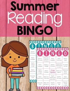 Free Summer Reading Bingo