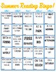 Summer Reading Bingo! (Who,What, Where,When,How Style!)