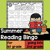 Summer Reading Bingo for First Grade going to Second Grade