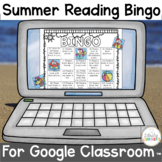 Summer Reading Bingo for Google Classroom