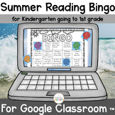 Summer Reading Bingo for Kindergarten going to First Grade