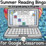 Summer Reading Bingo for Third Grade Going to Fourth Grade