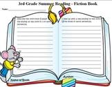 Summer Reading Book Report Grade 3