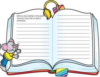 Summer Reading Book Report Grade 4