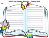Summer Reading Book Report Grade 5