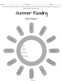 Summer Reading Book Report Graphic Organizer