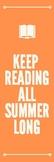Summer Reading Bookmark