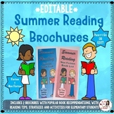 Summer Reading Brochures: Fiction & Non Fiction (EDITABLE)