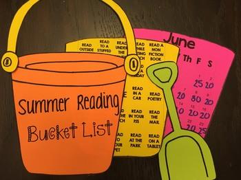 Summer Reading Bucket List Challenge