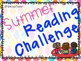 Summer Reading Challenge-2018