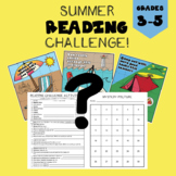 Summer Reading Challenge - Complete the Mystery Picture!
