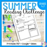 Summer Reading Challenge | Distance Learning | Google Classroom