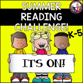 Summer Reading Challenge! For Rising 1st to 5th Graders! I