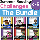 Summer Reading Challenges with book lists BUNDLE