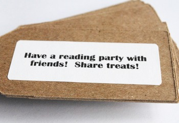 Summer Reading Challenge Labels