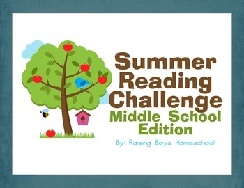 Summer Reading Challenge (Middle School)