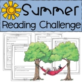Summer Reading Challenge Packet for Rising 3rd and 4th Graders
