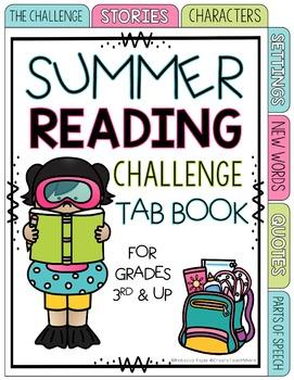 Summer Reading Challenge - Tab Book