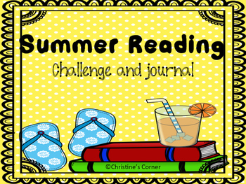Summer Reading Challenge and Journal Worksheets Printable Book Log