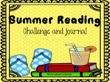 Summer Reading Challenge and Journal Worksheets Printable Book Log