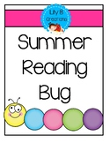 Summer Reading Bug