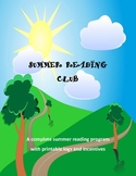 Summer Reading Club - reading incentive program