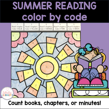 Summer Reading Color by Code