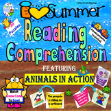 Summer Reading Comprehension:  Animals in Action