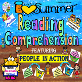 Summer Reading Comprehension: People in Action
