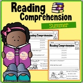 Summer Reading Comprehension – Puzzles