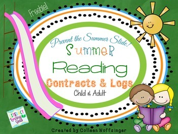 Summer Reading Contracts and Logs