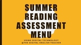 Summer Reading Digital Assessment Menu