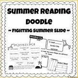Summer Reading Doodle - FREEBIE