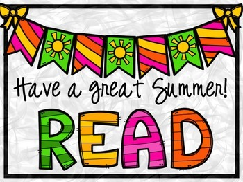 Summer Reading Encouragers - Bookmarks, Reading Logs, and More