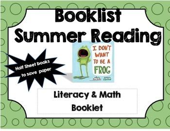 Summer Reading Extension