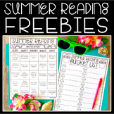 Summer Reading FREEBIES